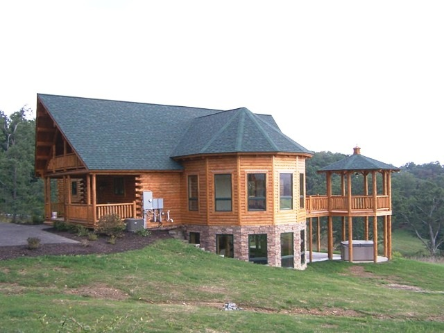 Katahdin Cedar Log Home Project #MD04-3