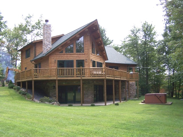 Katahdin Cedar Log Home Project #MD02-4