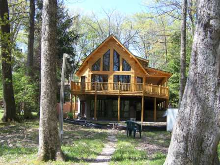 Katahdin Cedar Log Home Project #MD04-6