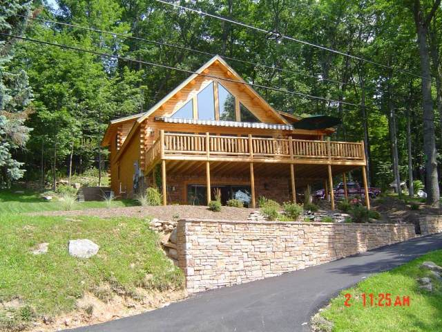 Project #MD04-5 Katahdin Cedar Log home