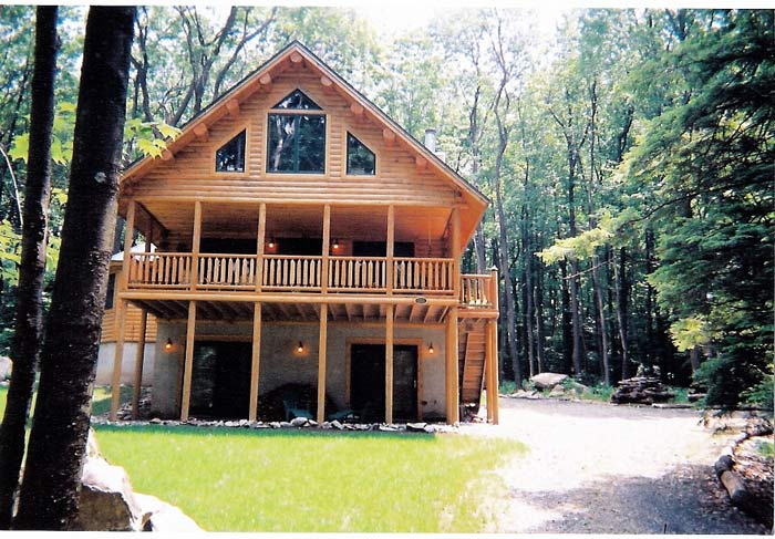 Katahdin Cedar Log Home Project #MD02-3
